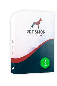 software pet shop control