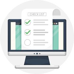 checklist divulgação