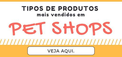 produtos mais vendidos em uma pet shop
