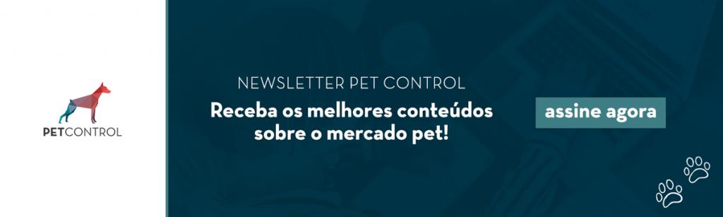 Inscrição Newsletter Pet Control