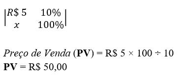 Controle Financeiro Pet Shop Fórmula Preço de Venda Serviço 2