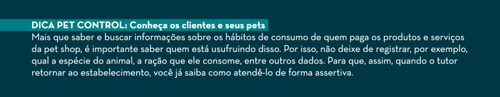 Dica Pet Control: conheça seus clientes