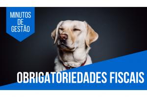 [Minutos de Gestão] Obrigatoriedades fiscais: o que minha pet shop precisa saber